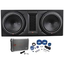 home theater subwoofer amplifier rockford fosgate p1 2x10 dual 10