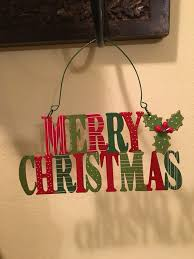 small merry hanging sign mercari buy sell things