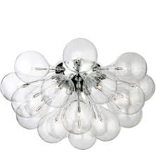 Glass Droplet Ceiling Light by Flush Ceiling Lights Crystal And Glass From Easy Lighting