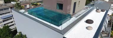 piscine en verre piscine inox verre geneva switzerland piscines carre bleu