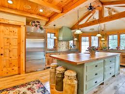 High Ceiling Kitchen by Country Kitchen With Specialty Door U0026 High Ceiling In New Canaan