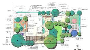 backyard plan beautiful landscape design plans with landscape architect design
