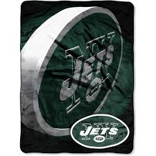 Jets Bedding Set License Nfl Jets 60x80 Micro Raschel Blanket Walmart Com