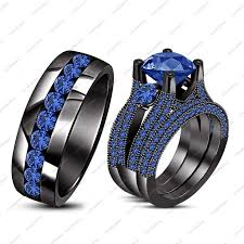 Black Gold Wedding Rings by 76 Best Blue Sapphire Engagement Rings White Gold Images On