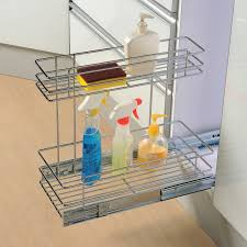 kitchen under sink organizer cabinet organizers