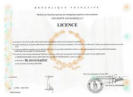 8 bureau des diplomes de licence 8