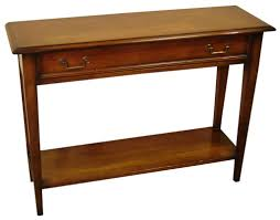 console tables unfinished pine nightstand sofa table solid wood