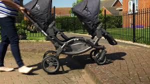 abc design zoom zwillingswagen abc design zoom tandem pushchair expert review