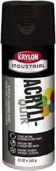 Krylon Short Cuts Spray Paint - krylon flat black paint mscdirect com