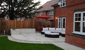 early modern patio dream gardens