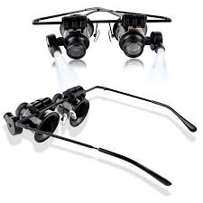 magnifying eyeglasses with light as seen on tv insten 20x magnifier magnifying led light glasses type eye glass