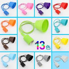silicone light bulbs wholesale aliexpress com buy colorful silicone retro bulb socket e27 pendant