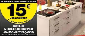entrepot du bricolage cuisine 15 euros sur les meubles de cuisine ofitres