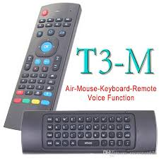 android keyboard with microphone t3 m fly air mouse 2 4ghz wireless mini keyboard with microphone