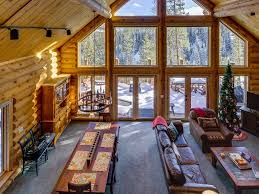 Beautiful Log Home Interiors Beautiful Log Mtn Home In Breckenridge Homeaway Breckenridge