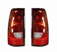 2004 2007 Silverado Tail Lights Pair