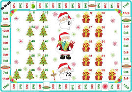 santa times tables games let me learn