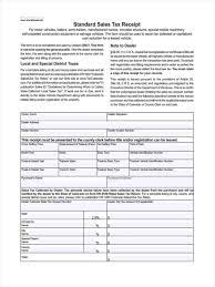dental receipt template standard receipt form free sample business proposals 5 standard receipt form samples free sample example format standard sales tax receipt standard receipt form