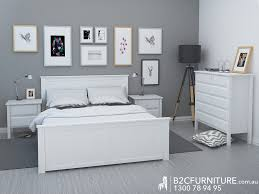 White King Size Bed Frame White King Size Bedroom Furniture