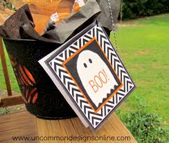 Boo Poem For Halloween Boo Treats For