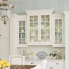 Appealing Glass Kitchen Cabinet Doors Beveled And Frosted Glass - Glass cabinets for kitchen