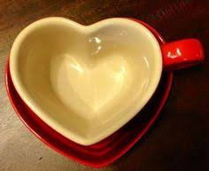 heart shaped mugs le creuset stoneware heart mug and tray set cherry tea cups