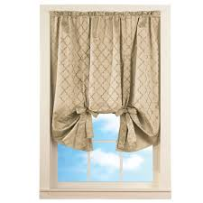 Lattice Design Curtains Details About Insulated Room Darkening Tie Up Lattice Shade By