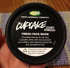lush cosmetics black friday beauty in the breakdown lush cupcake fresh face mask review