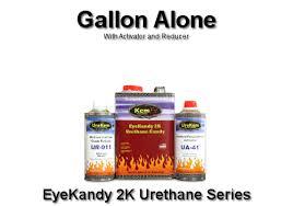 eyekandy 2k urethane kandy auto paint gallon kit buy custom