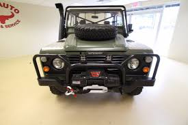 land rover defender 110 convertible 1986 land rover defender 110 military stock 17030 for sale near