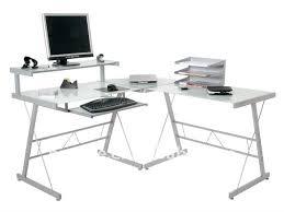 bureau metal et verre meuble d ordinateur en verre 15 verre coin ordinateur de bureau