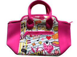 amazon com byo built adela lunch bag fun colorful designs