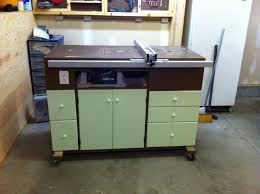 table saw router combo table saw router cabinet by tradeturnhobby lumberjocks com