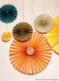 paper fan circle decorations fall paper fans from windy city novelties products i love pinterest