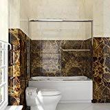 bathtub sliding doors amazon com