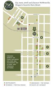 Mcminnville Oregon Map by Mcminnville Downtown Map Jpg