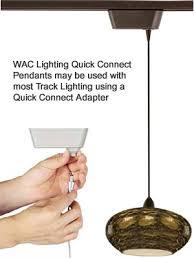 Track Light Pendant Wac Lighting Quick Connect Pendants For Track Lighting Wac