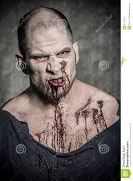 Halloween Makeup Beard by Scary And Bloody Zombie Man Stock Image Image 31710211