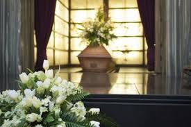 cremation procedure being cremated and the cremation process synonym