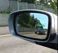 Blind Spot Side Mirror Progressive Optics For Side Mirrors Ends Automobile Blind Spots