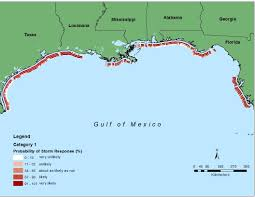 Florida Gulf Coast Beaches Map by Data Release National Assessment Of Hurricane Induced Coastal