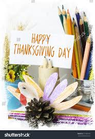 beautiful happy thanksgiving day card stock photo 517685107