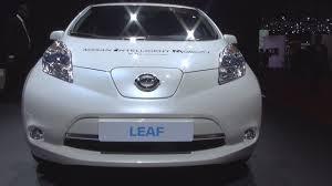 nissan leaf 2017 interior nissan leaf 2017 exterior and interior youtube