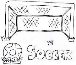 soccer coloring pages the sun flower pages