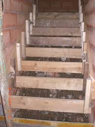 treppe betonieren manuela und michael bauen