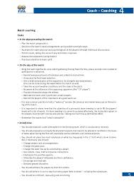 Doc 5720 Resume Action Words by Fifa Coaching Manual