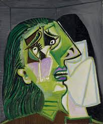 weeping woman pablo picasso ngv view work