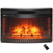build electric fireplace 28 in infrared quartz electric fireplace insert with flush mount