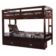 Signature Design By Ashley Hallytown Solid Pine TwinTwin Bunk Bed - Simply bunk beds