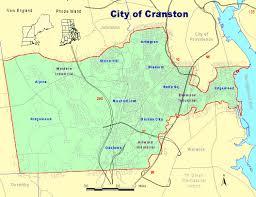 Map Of Newport Ri Neighborhood Maps Cranston Ri Cranston City Hall Ri